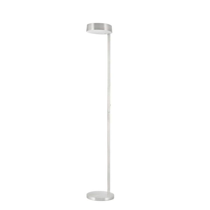 Lámpara de Pie Niquel diseño lineal #iluminacion #pies #decoracion #lamparas #interiorismo #diseño
