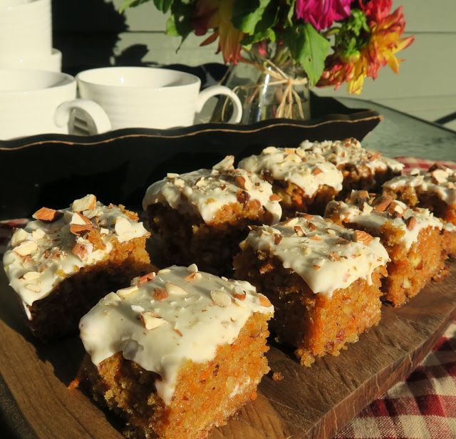 Mennonite Girls Can Cook: Florence's Carrot Cake ~ Flashback Friday
