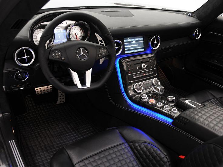 Brabus Mercedes-Benz SLS 63 AMG Roadster (R197) '2011