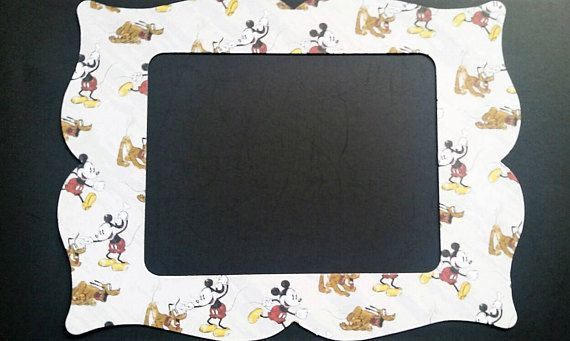 Mickey Mouse and Pluto refrigerator photo frame magnet. This is for ...