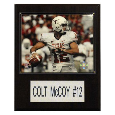 NCAA 12 x 15 in. Football Colt McCoy Texas Longhorns Player Plaque - 1215MCCOYC
