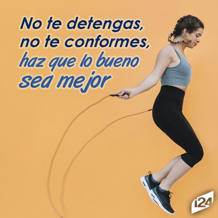 ¡Tú puedes lograrlo! #Frase #Fitness #Motivación #Motivation