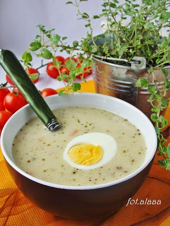 Ala piecze i gotuje: Zupa chrzanowa