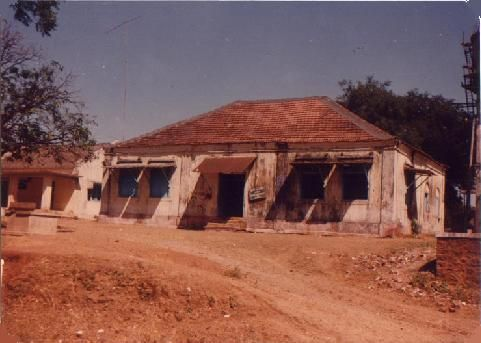 The Police Station of Dadra which was attacked  ,August 1954.The UFG, led by Francis Mascarenhas, Viman Sardesai and others, attacked the police station in Dadra on the night of 22 July 1954, assassinating Aniceto Rosário, sub-inspector at Dadra Police Station.[3] The next morning, the Indian flag was hoisted and Dadra was declared a free territory. A panchayat led by Jayanti Bhai Desai was formed for the administration of Dadra.