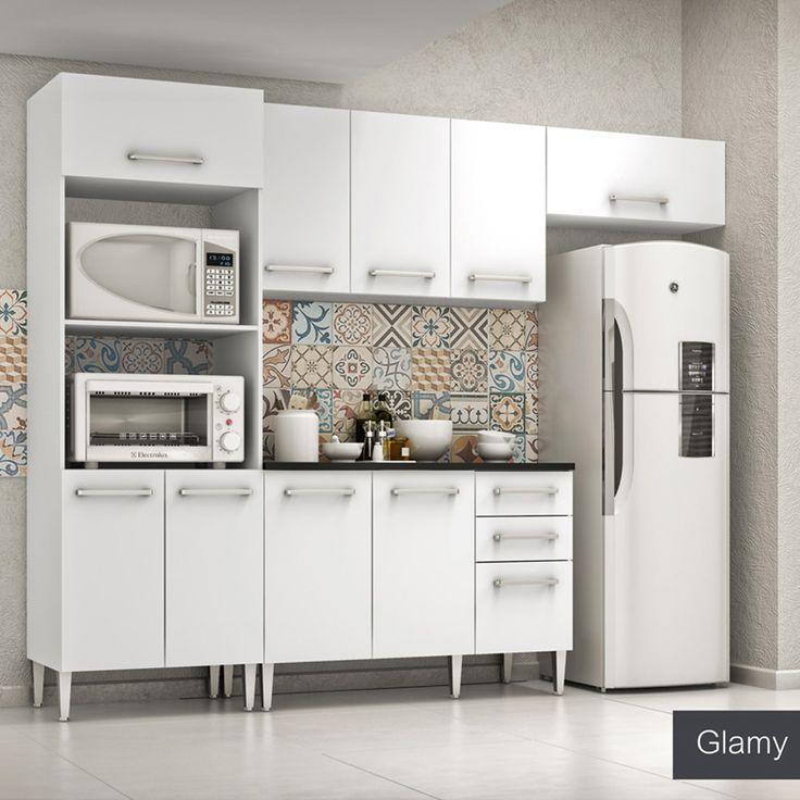Gostou desta Cozinha Glamy 4 Peças Elis Tulipa Branco C/ Tampo - Madesa, confira em: https://www.panoramamoveis.com.br/cozinha-glamy-4-pecas-elis-tulipa-branco-c-tampo-madesa-4790.html