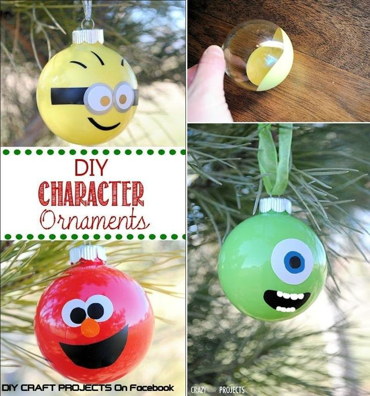 How To Make Character Ornaments Step By Step DIY Tutorial