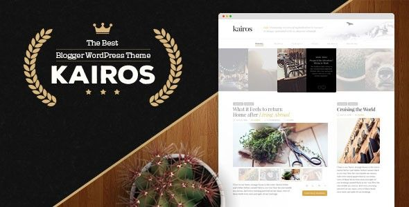 Download Kairos – WordPress Blog Theme free download, free theme, free wp…