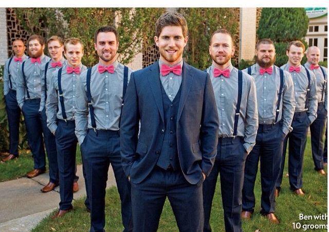 Ben Seewald, and his groomsmen
