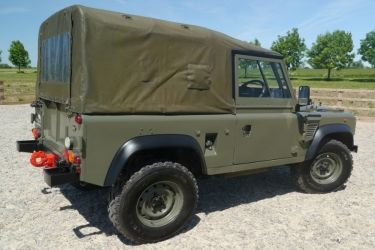 Land Rover Defender Wolf TDI Wimick - Land Rover Defender Icon
