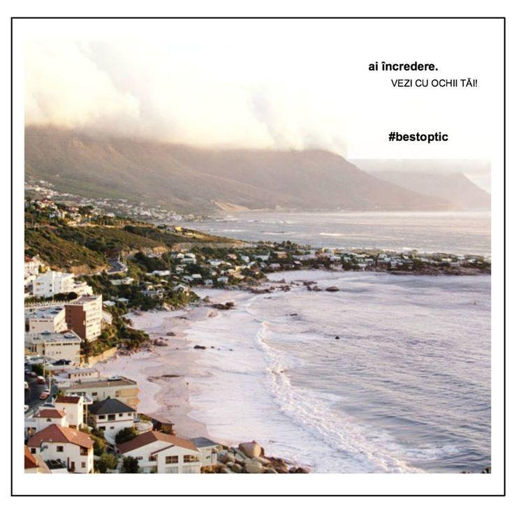 Cu ce ai schimba, azi, peisajul ploios al Brașovului? Poate cu Plaja Clifton din Africa? E un adevărat paradis. Formată din 4 plaje, fiecare secțiune fiind separată de bolovani de granit, Clifon este cea mai aglomerată și cunoscută plajă din Cape Town, aceasta fiind și plaja preferată a vedetelor. Un loc #devazut cu ochii tăi! #bestoptic #travel #summer