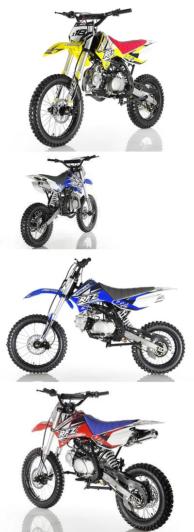 Motorcycles: 2017 Other Makes Db-X18 125Cc New Apollo Rfz X18 Dirt Bike Mid Size For Sale 125Cc Dirt Bike For Bigger Kids ! -> BUY IT NOW ONLY: $849 on eBay!