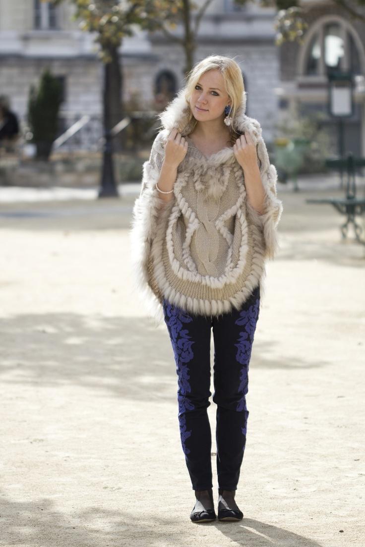 #fashion #fashionista Vicky marrone blu The Golden Bun | Fashion & Lifestyle blog based in Paris - Munich - Bozen: Avec Bomboogie à Paris
