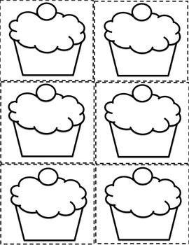 ESL BIRTHDAY GRAPH BULLETIN BOARD CUPCAKE PRINTABLES AND WORKSHEET - TeachersPayTeachers.com