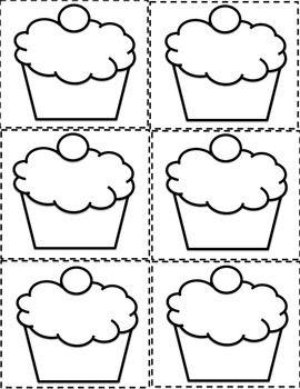 ESL BIRTHDAY GRAPH BULLETIN BOARD CUPCAKE PRINTABLES AND WORKSHEET - TeachersPayTeachers.com                                                                                                                                                                                 More