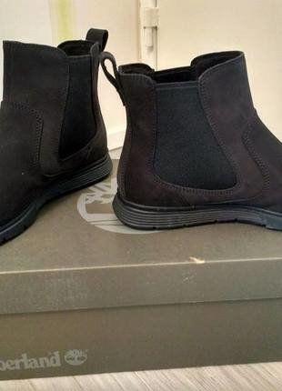 À vendre sur #vintedfrance ! http://www.vinted.fr/chaussures-femmes/bottes-and-bottines/28281864-chaussure-chelsea-timberland-noir-neuve