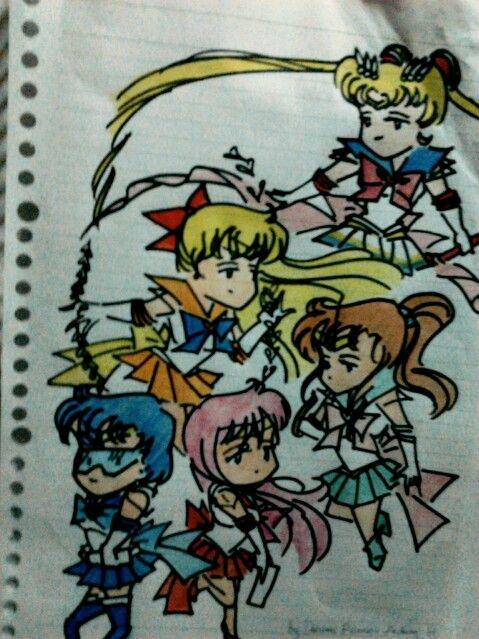 #sailor #moon ^^ My jnrhgscl friend gave me this.. so cute