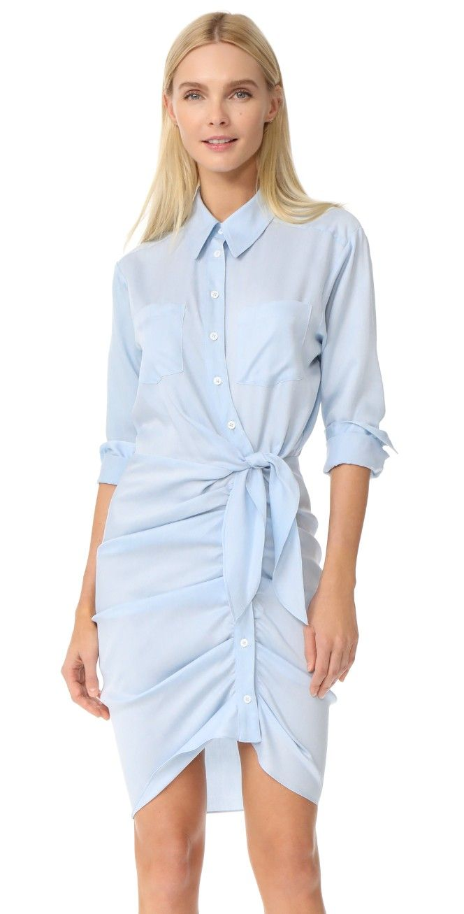 Veronica Beard Sierra Ruched Dress | 15% off first app purchase with code: 15FORYOU