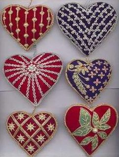 embroidery christmas ornaments