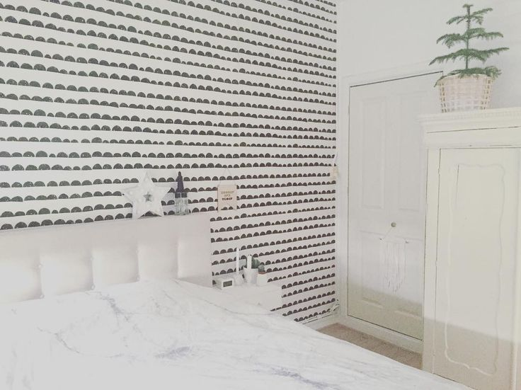ferm living half moon wallpaper. Black Bedroom Furniture Sets. Home Design Ideas