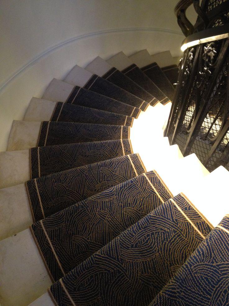 Cage d'escalier - Tapis