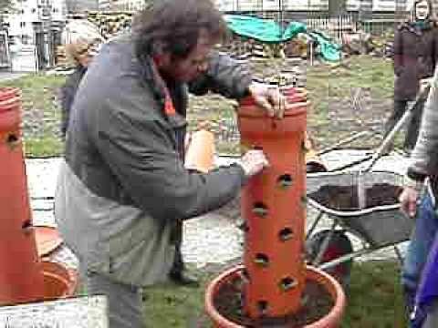 Workshop Vertikaler Garten - Urbane Permakultur - Youtube | Garten ... Vertikale Garten Ideen Garten Balkon