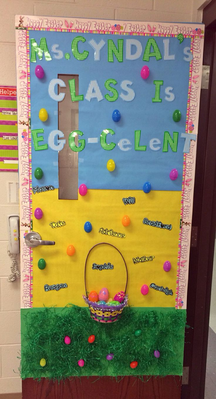 Classroom Ideas For Easter ~ Best easter door ideas images on pinterest