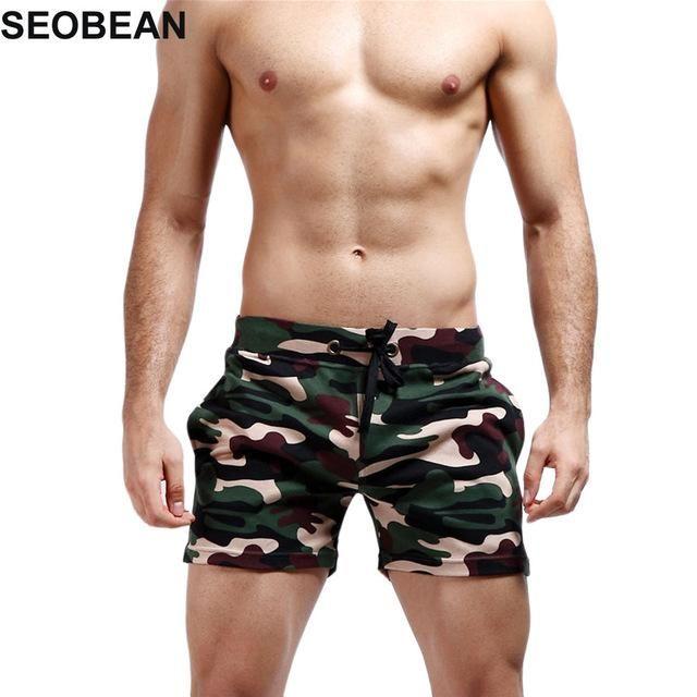 2840e11a1a Mens designer swimsuit swimwear SEOBEAN Camouflage beach Boxer Men Swimwear  Shorts Sexy Sunga Masculina Men'S Swimming Trunks men briefs sport men  Swimsuit ...