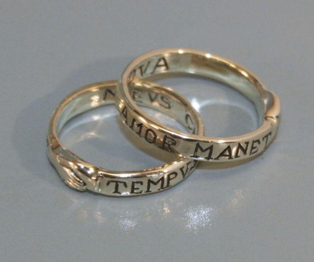 Ring Dextrarum Iunctio, Gold 585