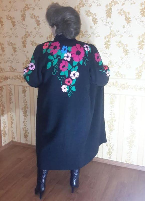 Вязаное пальто «В ожидании весны» | Zoya Woolwitch