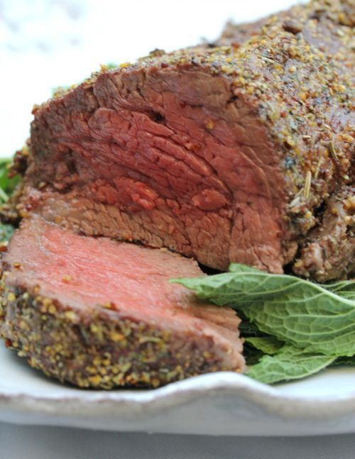 Roasted Beef Tenderloin by Susan Benton | Holiday Recipes | Nov/Dec 2012 Issue | www.30AEats.com