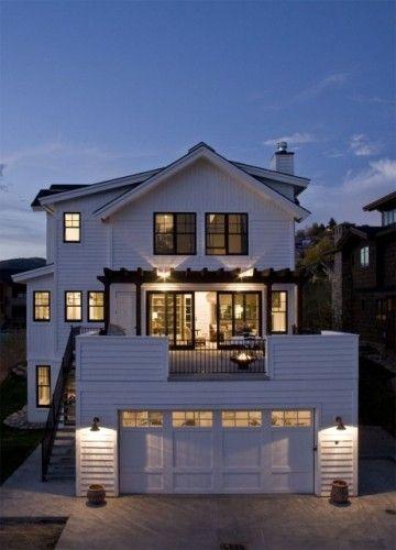 Modern Flat House Design: 47 Best 2 Story Garage Images On Pinterest
