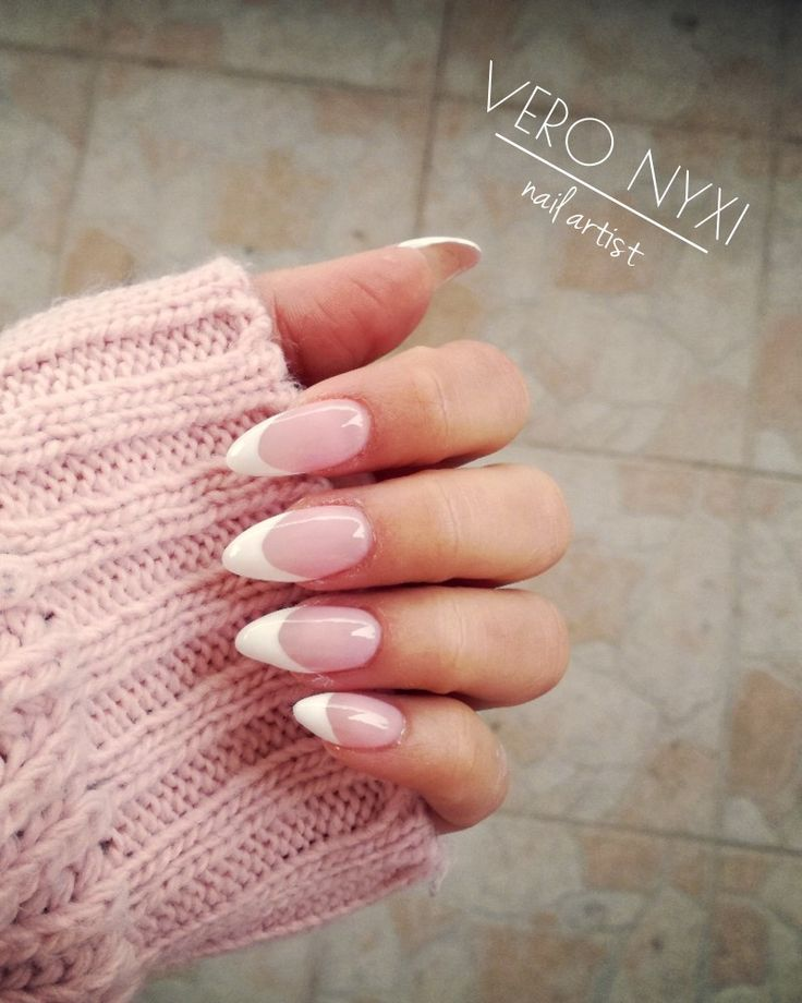 #french#nails#simple#and#good