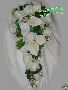 Celtic Wedding Flowers Shamrocks Bridal Bouquets EBay