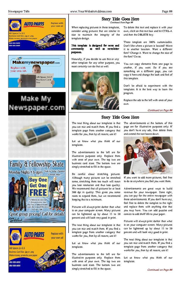 82 melhores imagens de newsletter templates no pinterest modelos de boletins informativos. Black Bedroom Furniture Sets. Home Design Ideas