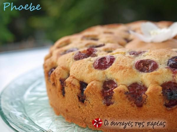 Cherry coffee cake #sintagespareas