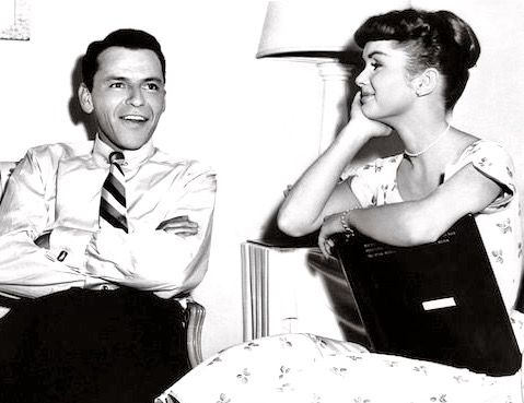 Frank Sinatra and Debbie Reynolds, adorable!
