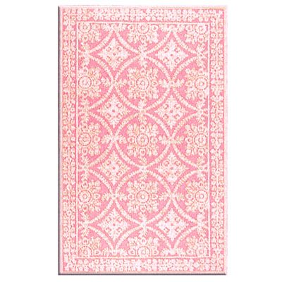 Romantic Lace Wool Rug #laylagrayce #pink #rug