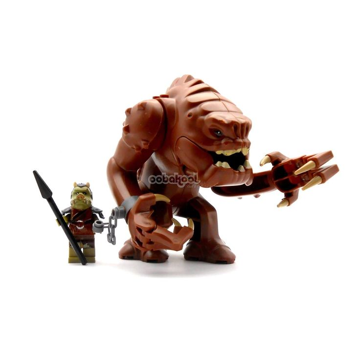 KAPOW! Star Wars / Ranco... has arrived! Be first to check it out here http://oobakool.co.za/products/rancor-gamorrean-guard-custom-minifigure?utm_campaign=social_autopilot&utm_source=pin&utm_medium=pin #OobaKool  #StarWars #Collectable