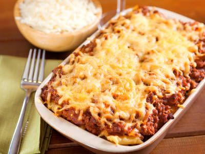Food Network Baked Mostaccioli
