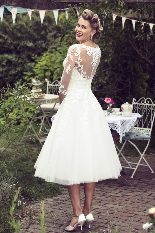 Brighton Belle Wedding Dress Bonnie Back