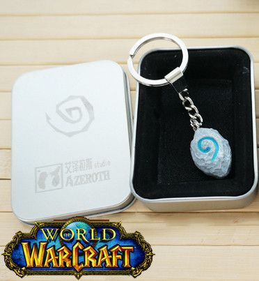 - This is perfect for any World of Warcraft Gamers! - While Supplies Last! Limit 10 Per Order Please allow 4-6 weeks for shipping Item Type: Keychain Material: Resin Size: 2.5cm x 1.8cm Luminous Effec