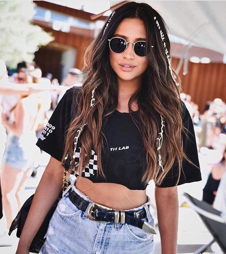 Shay Mitchell at the 2017 Coachella Music Festival