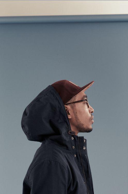 Oddisee for I Love Ugly dcwdesign: hood & hat.