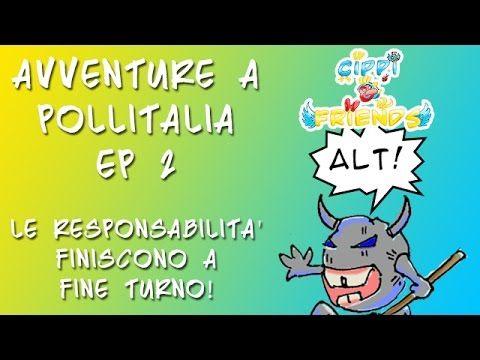 Cippi and Friends: Avventure a Pollitalia - Le responsabilita' finiscono...
