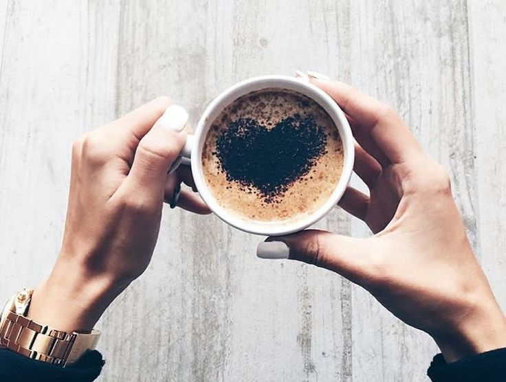 #drink #coffee #heart #inspiration #morning #pic #nails