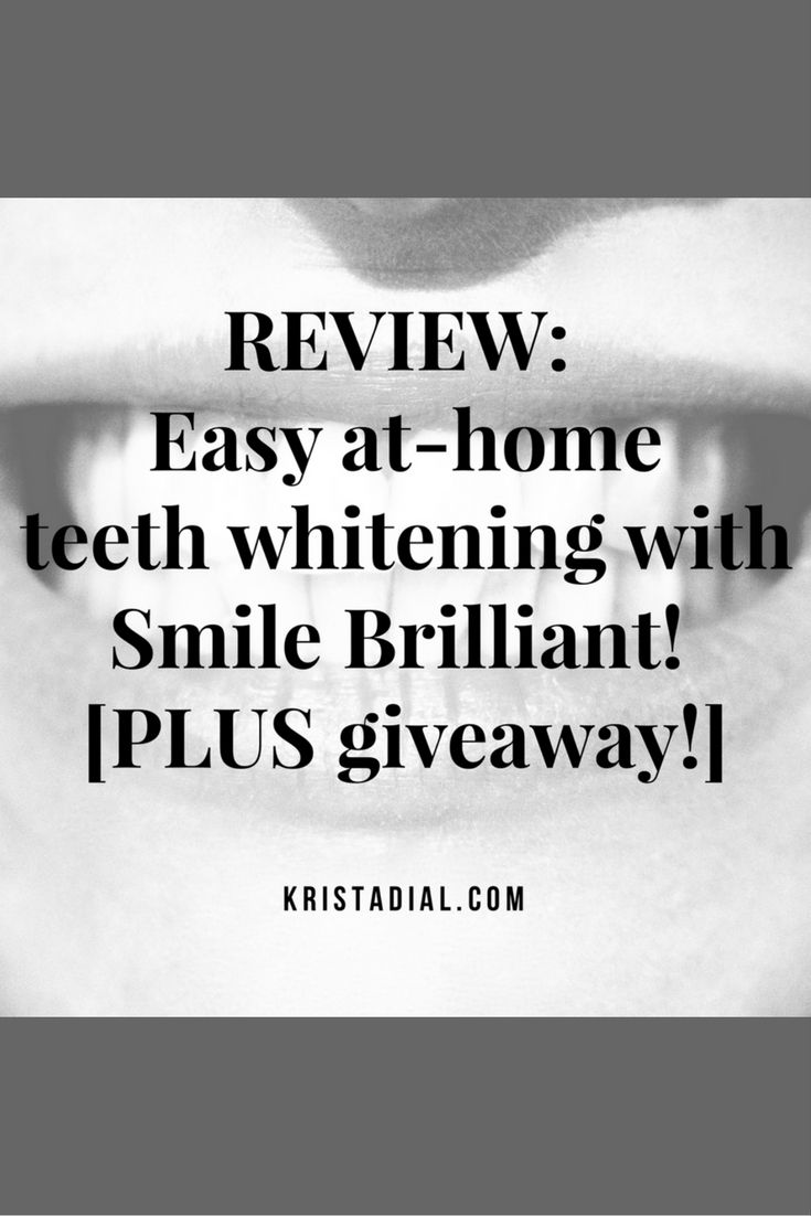 Looking for professional teeth whitening results from the comfort of your own home at a fraction of the cost? Check out Smile Brilliant! Plus...one of my lucky readers will win a free Smile Brilliant! teeth whitening system...click to learn more!