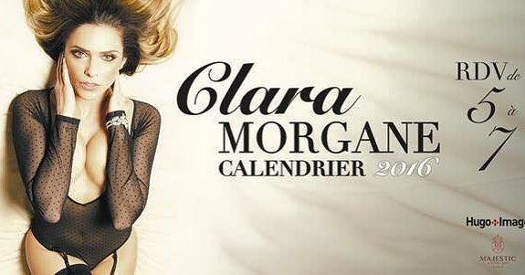 Demain à 11h @claramofficiel vous proposera sur sa page Facebook  CLARA MORGANE Officiel sa nouvelle vidéo du #calendrier2016. #claramorgane by claramorganefanclub