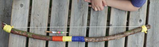 Bow and arrow - Pijl en boog
