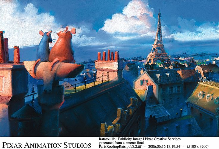 Pixar Concept Art Collection - Ratatouille via http://www.itsartmag.com