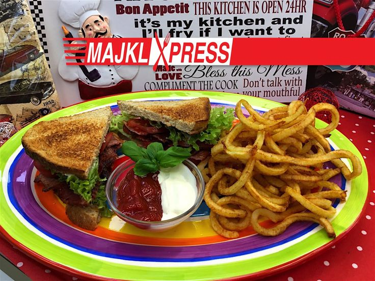 Majkl Express: Best and easiest BLT sandwich recipe